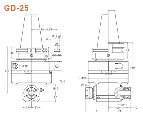 Angle-Head-GD-25-SK50-Gisstec-g2
