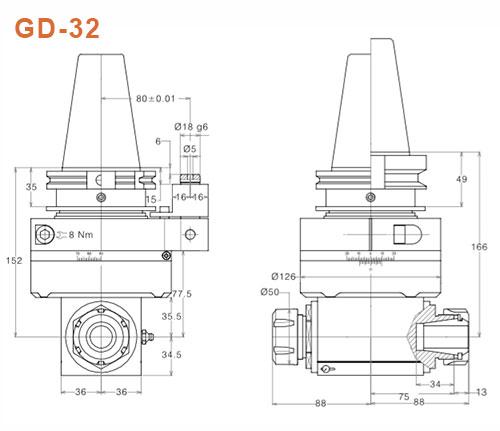 Angle-Head-GD-32-SK50-Gisstec-g2